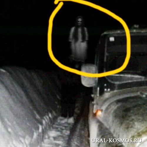 Призрак на дороге близ Североуральска?