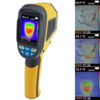 Тепловизор предназначен для измерения и визуализации распределения температур на поверхностях объекта исследования бесконтактным методом