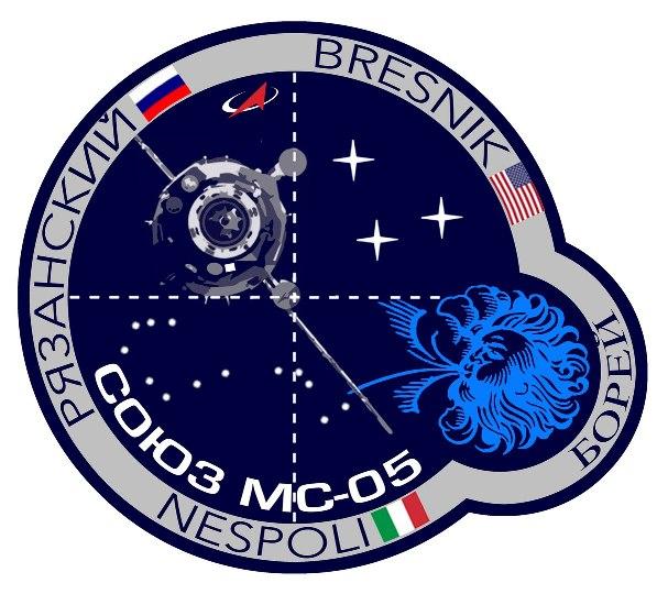 Эмблема Союз-МС05. Автор Анастасия Тимофеева