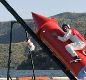 Старт американского астронавта лет так через 10