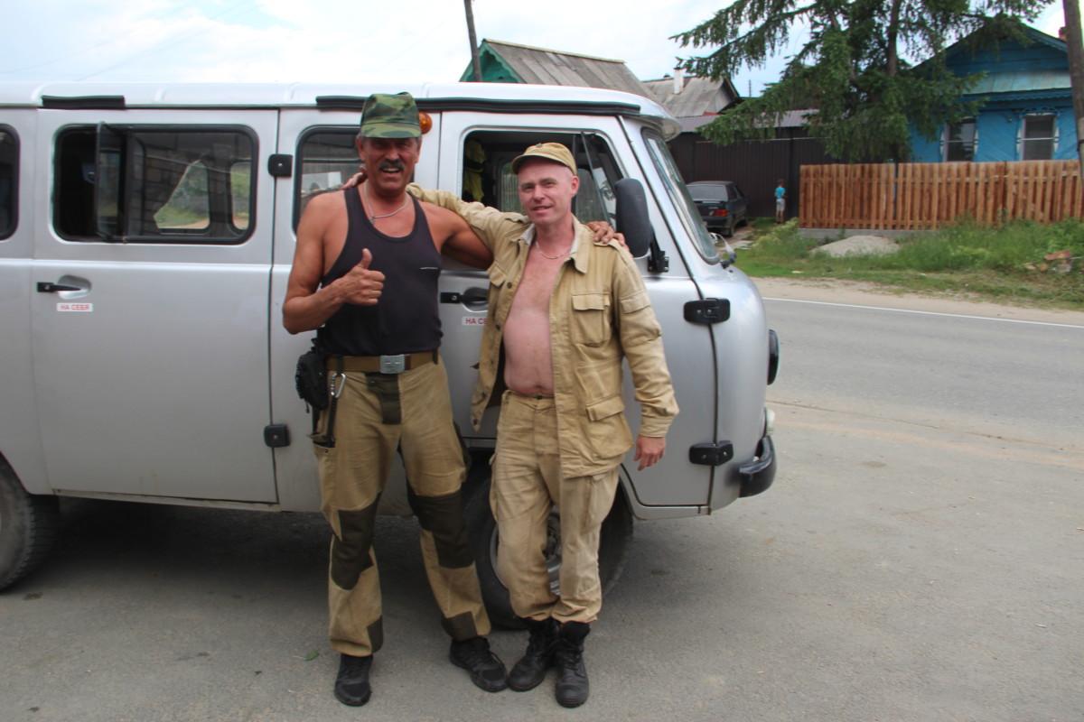 Владимир Бендлин (слева) и Алексей Королёв. Новая встреча на кыштымской земле