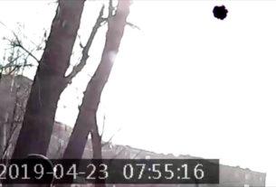 Q7 СНЯЛА НЛО? Первый же тест мини-камеры показал черный сфероид в небе
