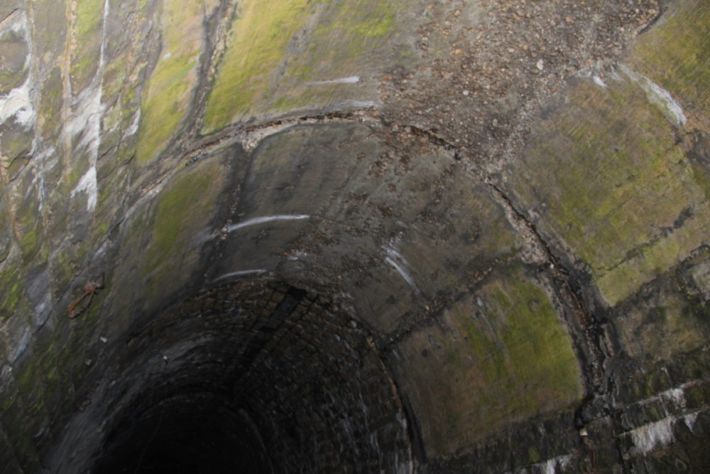 Дидинский заброшенный тоннель