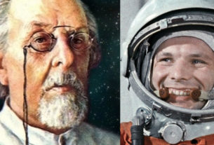 Циолковский и Гагарин